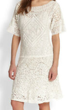 New with tags Ralph Lauren Blue Label Tatiana Lace White dress lady size M $1000