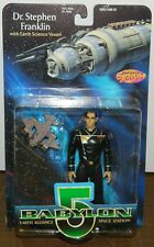 "BABYLON 5 Dr. Stephen Franklin 6"" Action Figure Diamond Select 1997 MINT ON CARD"