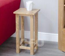Oak Less than 30 cm Width Modern Tables