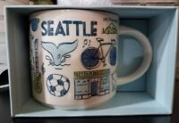 Starbucks Coffee SEATTLE Ceramic Mug 14 fl oz Been There Series New In Box W/SKU