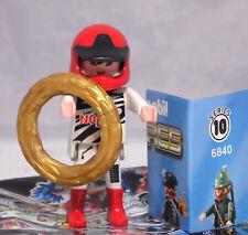 Playmobil 6840 Figures Boys Serie 10, Rennfahrer mit Siegerkranz #11 NEU
