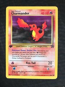 Pokemon Cards: Team Rocket 1st Edition Common: Charmander 50/82