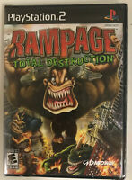 Rampage: Total Destruction (Sony PlayStation 2, 2006) brand new-sealed ps2