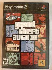 Ps2 Grand Theft Auto Iii 3 Brand New Factory Sealed PlayStation 2 Gta Wata Vga