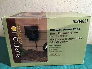 Portfolio Outdoor Landscape Lighting Power Pack Transformer 100W DA-100-12W-1