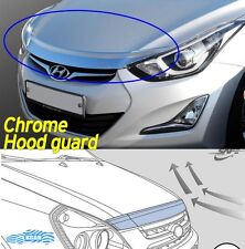 Bonnet Hood Guard Chrome Garnish Deflector K-893 for Hyundai ELANTRA 2011 ~ 2016