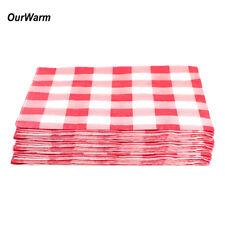 20pcs 33x33cm Disposable Restaurant Paper Dinner Wedding Party Napkins Cloth Set