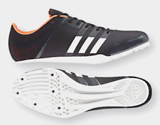 Adidas Adizero Finesse Track Spikes CG3833 US Men's Size 13 BLACK ORANGE