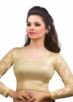 Indian Ready Made Stitched Saree Blouse Designer Wedding Party Wear Choli Top
