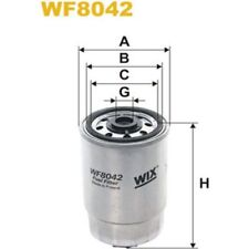 ORIGINAL WIX FILTERS KRAFTSTOFFFILTER WF8042 ALFA ROMEO, AUDI, BEDFORD,