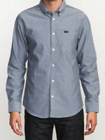 RVCA Boy's That'll Do Oxford Long Sleeve Shirt - Boy's Fit