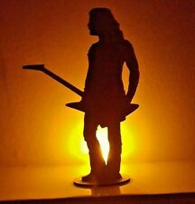 More details for james hetfield silhouette laser cut  perspex acrylic metallica justice puppets