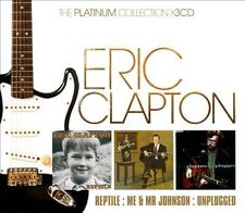 The Platinum Collection: Reptile/Me & Mr. Johnson/MTV Unplugged [Box] by Eric Clapton (CD, Oct-2010, 3 Discs, Warner Bros.)