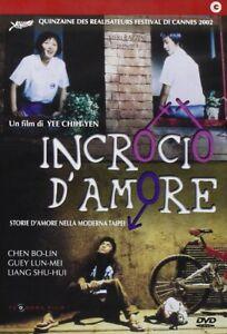 INCROCIO D'AMORE - EX NOLEGGIO  DVD COMICO-COMMEDIA