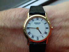 Raymond Weil 113 VINTAGE COLLECTION SWISS WATCH NOS 18 K GOLD ELECTROPLATED UHR