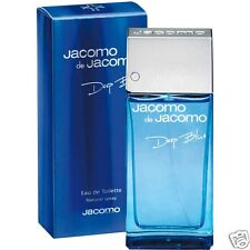 JACOMO DE JACOMO DEEP BLUE EAU DE TOILETTE UOMO 3.38 fl.oz SPRAY NEW BLISTER