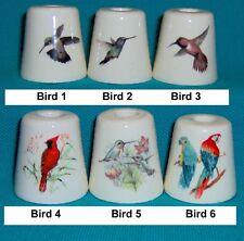 3 Bird Parrot Hummingbird Cigarette Snuffers 180designs