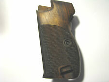 Pistol Grips for SIG P210  English Walnut Chkd+Back w/Bottom Mag Release/Lanyard