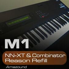 KORG M1 REASON REFILL 100 NNXT & COMBINATOR PATCHES 961 QUALITY SAMPLES MAC PC