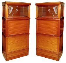 Fabulous Pair of Matching American Mahogany Cabinets #2914