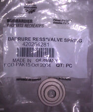 NEW SEA DOO VALVE SPRING RETAINER GTX 4-TEC WAKE 2005 420254281