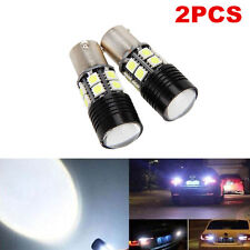 2x White Canbus No Error 1156 BA15S P21W LED Car Tail Backup Reverse Bulb Light