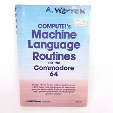 Compute!'s Machine Language Routines for the Commodore 64 Book 1984 Vintage