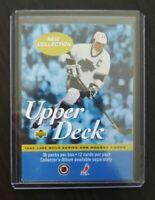 1995-96 Finnish Upper Deck Promo card Wayne Gretzky #NNO