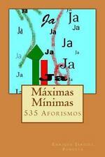 Máximas Mínimas : 535 Aforismos by Enrique Jardiel Poncela (2014, Paperback)