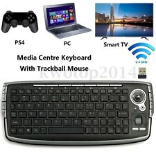 Mini 2.4GHZ Wireless Keyboard Touchpad With Mouse For PC PS4 Smart TV Computer