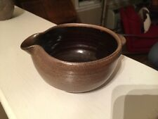 2005 RED WING Pottery syrup gravy creamer pouring BOWL by Alex Wilson