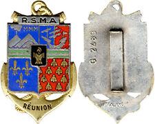 Régiment du Service Militaire Adapté, REUNION, émail, F.I.A. 2483 (5777)