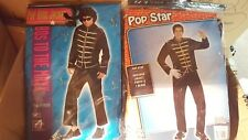 MENS COSTUMES pop king jacket michal jackson or costume the king of pop