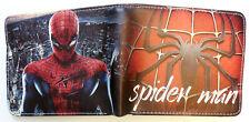 Spiderman Wallet purse Bifold Credit card id window Homecoming Spider Man