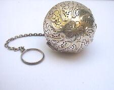 VINTAGE / ANTIQUE GORHAM STERLING SILVER FANCY DECORATIVE TEA BALL