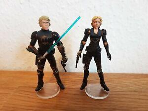 Star Wars Luke Skywalker & Deena Shan - Hasbro - exklusiv aus 2er Comic Pack