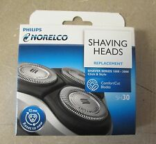 NEW Philips Norelco Shaving Heads Replacement Comfort Cut Blades - SH30