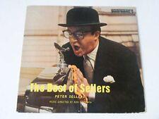 """PETER SELLERS The Best Of Sellers   Parlophone 1958 UK 10"""" LP"""