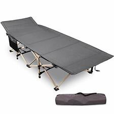 """REDCAMP Folding Camping Beds for adults, 28"""" Extra Wide Heavy Duty Sturdy Camp"""