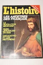 L'HISTOIRE N°86 REVOLUTION MEXICAINE CAGLIOSTRO JERUSALEM