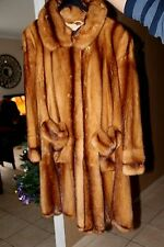 Exceptionnel manteau de vison femelle de grande qualité comme neuf 42/44