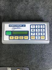 New listing Hemochron Jr. Signature Whole Blood Microcoagulation System Working!