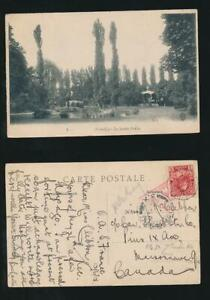 CANADA WW1 PPC ARMY CENSOR + FRANKED on ARRIVAL 2c FPO 3X FRANCE 1915
