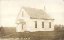 South Hope ME Advent Chapel c1910 Real Photo Postcard