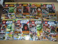 8 x LEGO Star Wars Heft Magazin 1-8 von 2015-2016 + Bausatz NEU OVP