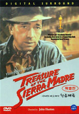 The Treasure of the Sierra Madre (1948) John Huston, Humphrey Bogart / DVD, NEW
