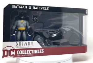 Batman The Animated Series Batman and Batcycle New in Box DC Collectibles BIN
