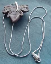 """16 - 17.99"""" QVC Sterling Silver Fine Necklaces & Pendants"""