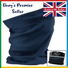 FRENCH NAVY Beechfield 3 in 1 Face Cover • Original Morf • Scarf Breathable Mask
