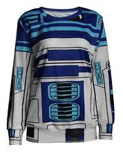 IAM R2-D2 R2D2 STAR WARS JUMPER SWEATER TOP SHIRT COSTUME S-M *NEW* RARE SALE
